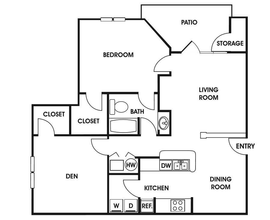 Charleston floor plan