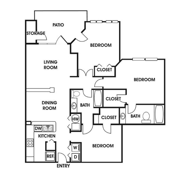 Penninsula floor plan